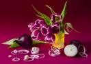 Тюльпанно-луковый дуэт