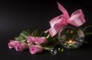 С розовым бантом