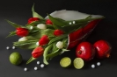Kwiatowo-owocowa kompozycja