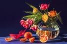 Z czerwonymi pomarańczami