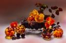 Z kuleczkami z owocowej galaretki