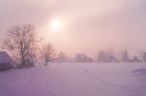 Różowa mgła